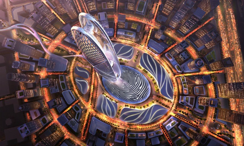 """اولین نگاه به Supertall دبی """"Burj Jumeira"""" طراحی شده توسط SOM"""