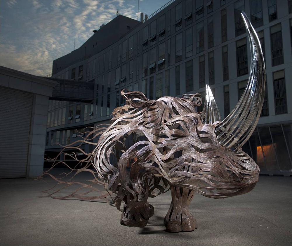 طوفان در حیوانات فلزی سونگ هون کانگ