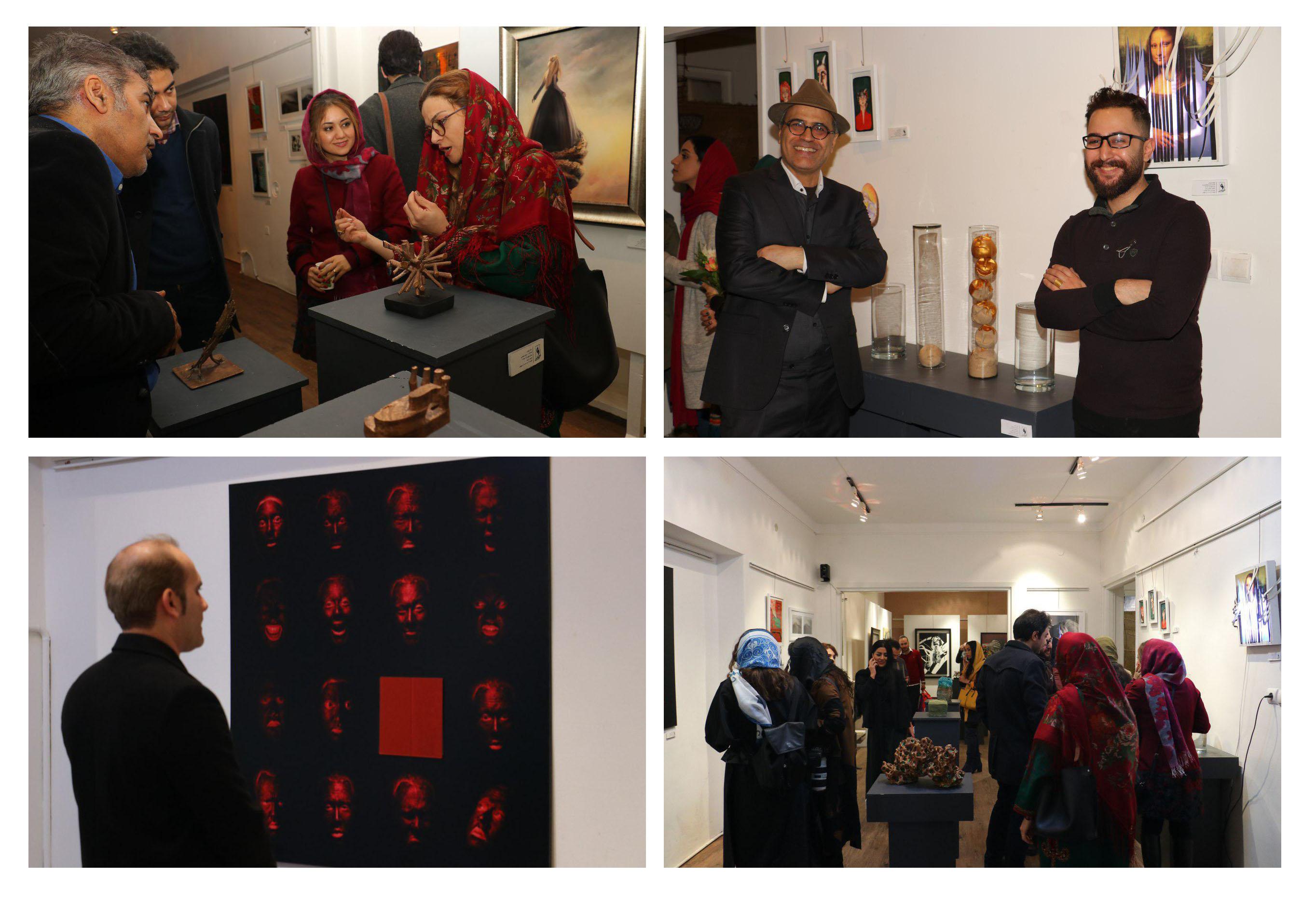 """گزارش تصویری نمایشگاه گروهی """"صبحگاه"""" در گالری زرنا"""