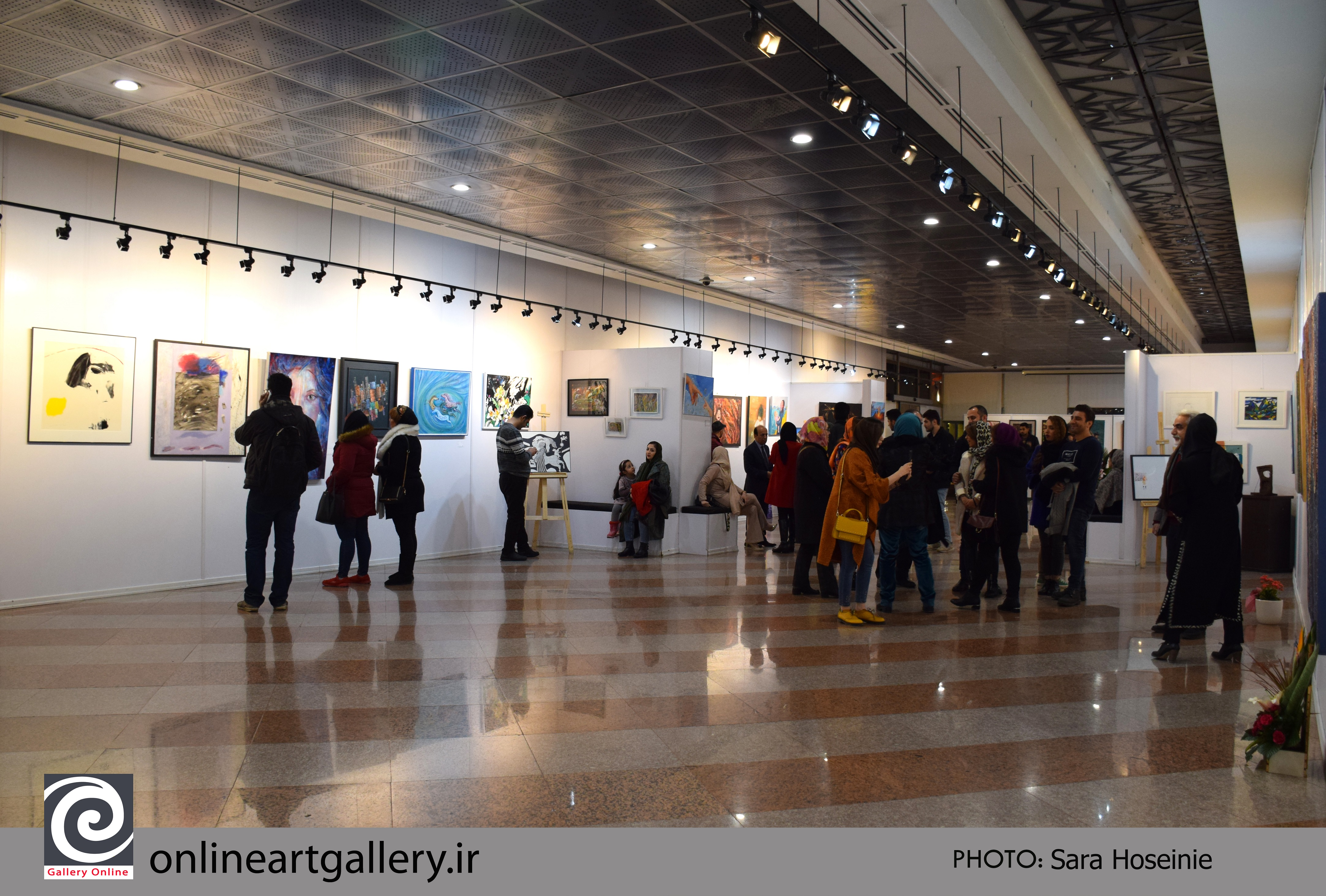 گزارش تصویری جشنواره کشوری نقاشی روبان قرمز
