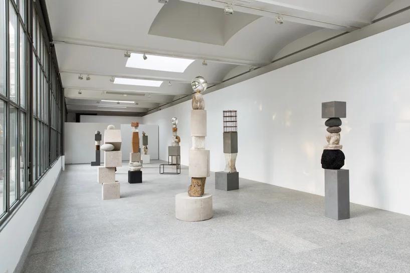 تاریخ مجسمه سازی در ترکیببندیهای عمودی jose dávila