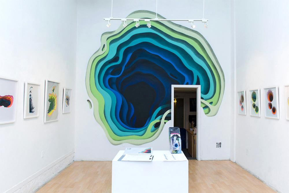 نقاشی های سه بعدی هنرمند آلمانی در سطح شهر