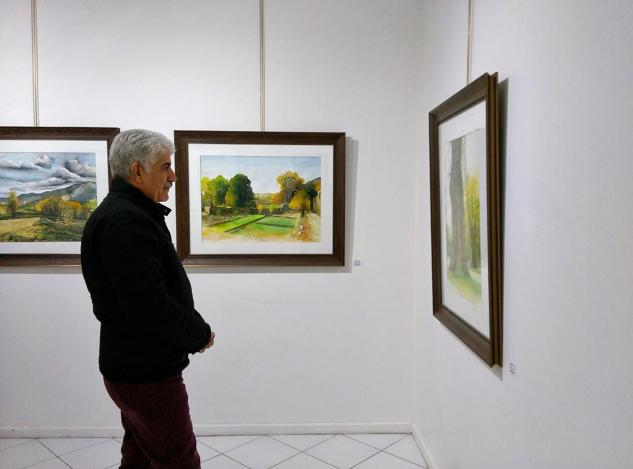 گزارش تصویری نمایشگاه نقاشی های کاظم رضائیان در گالری رضائیان