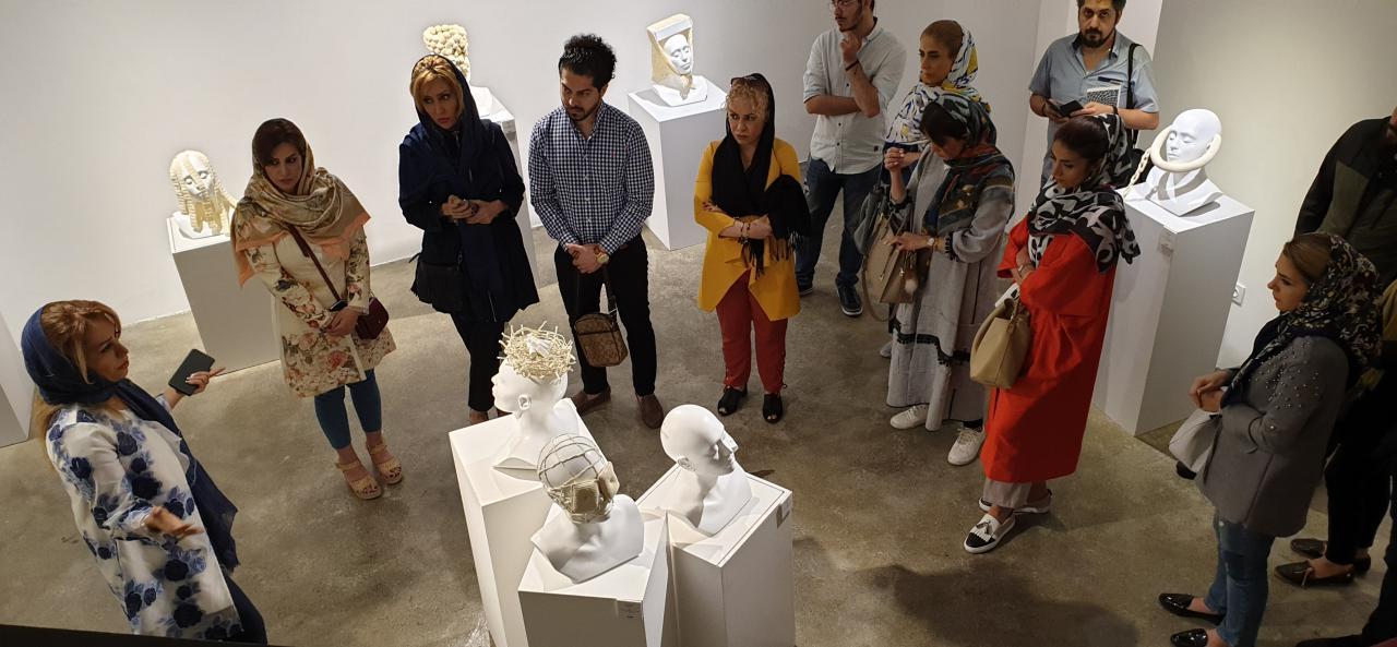 """گزارش تصویری نمایشگاه """"خویشتن"""" در گالری سایه"""