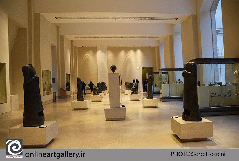 گزارش تصویری آثار تاریخی و باستانی ایران، بابل، آشور و ... در موزه لوور پاریس