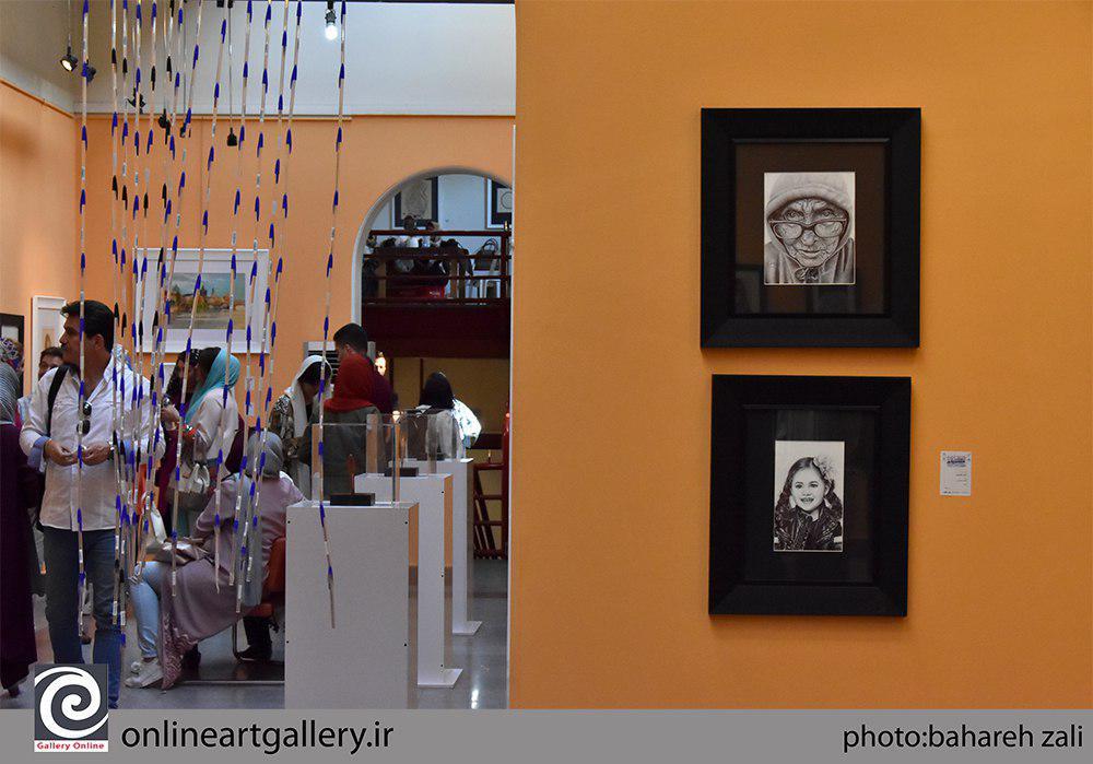 """گزارش تصویری نخستین جشنواره هنری"""" قلم""""در صبا (بخش دوم)"""