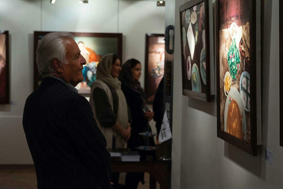"""گزارش تصویری نمایشگاه """"حصارهای تنهایی یک زن"""" در گالری شلمان"""