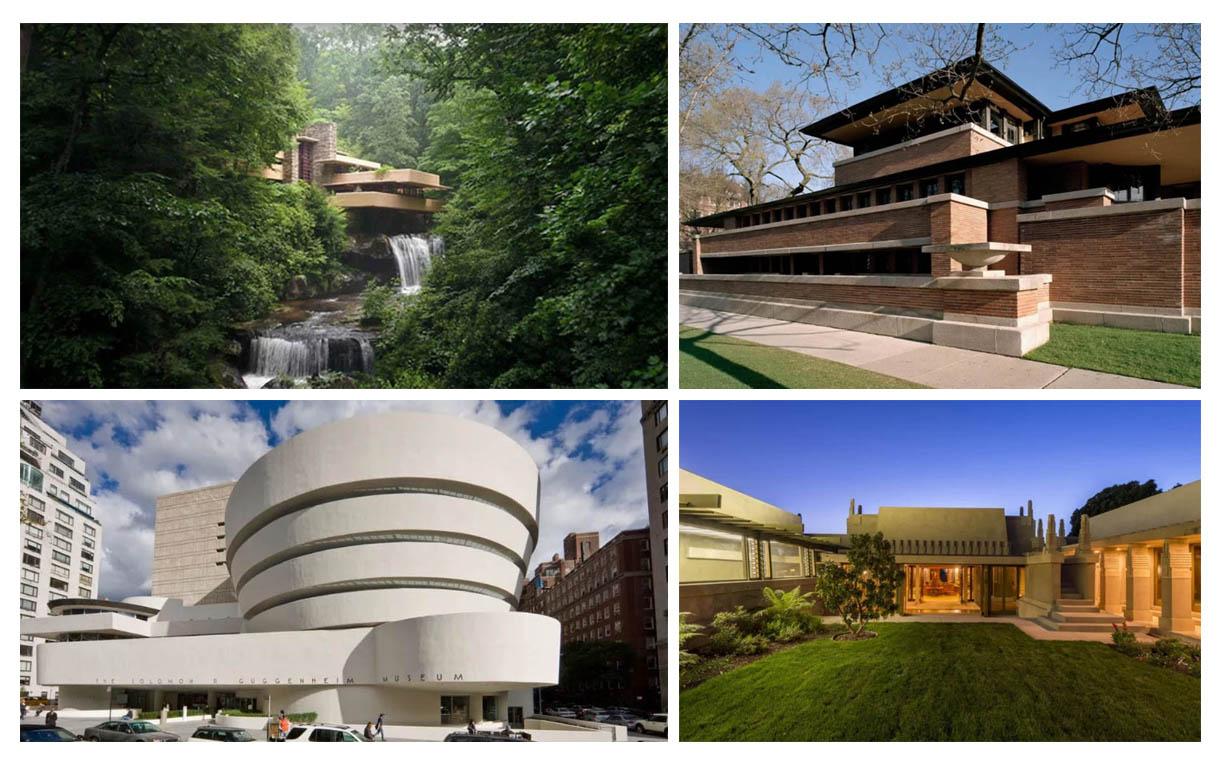نگاهی به هشت ساختمان فرانک لوید رایت در میراث جهانی UNESCO