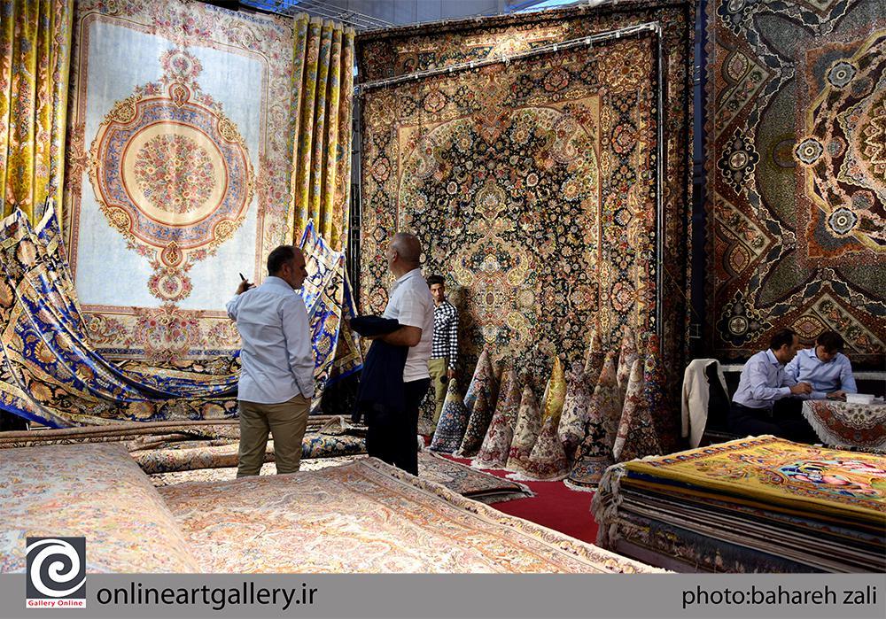 گزارش تصویری بیست و هشتمین نمایشگاه فرش دستباف ایران