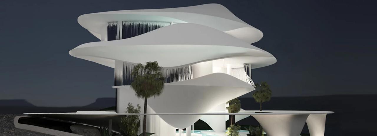 خانه پیشنهادی استودیوی معماری314 در ساحل یونان
