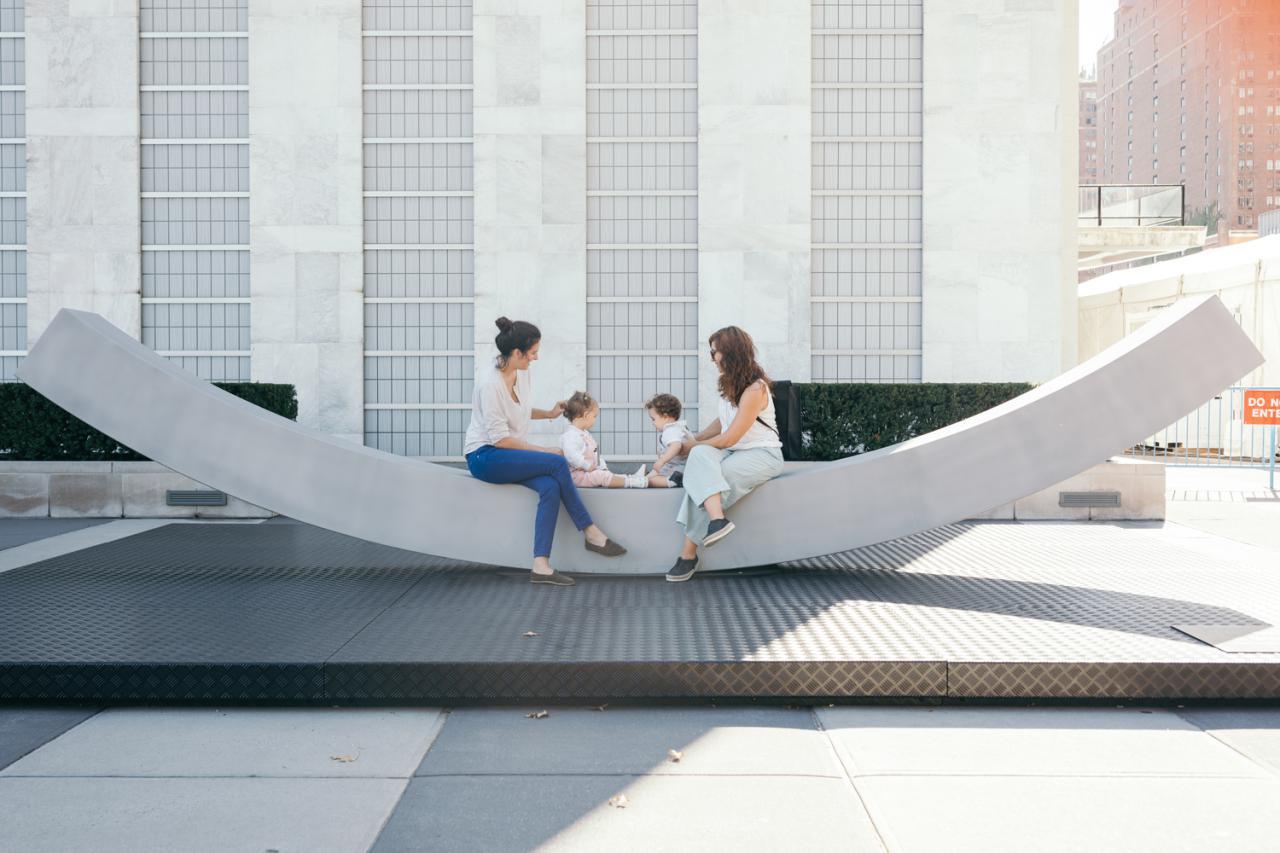 طراحی نیمکت صلح برای دفتر مرکزی سازمان ملل