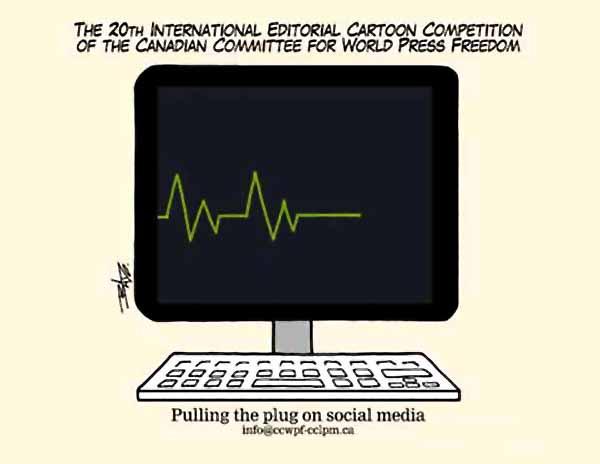 فراخوان بیستمین مسابقات بین المللی کاریکاتور آزادی مطبوعات کانادا 2020