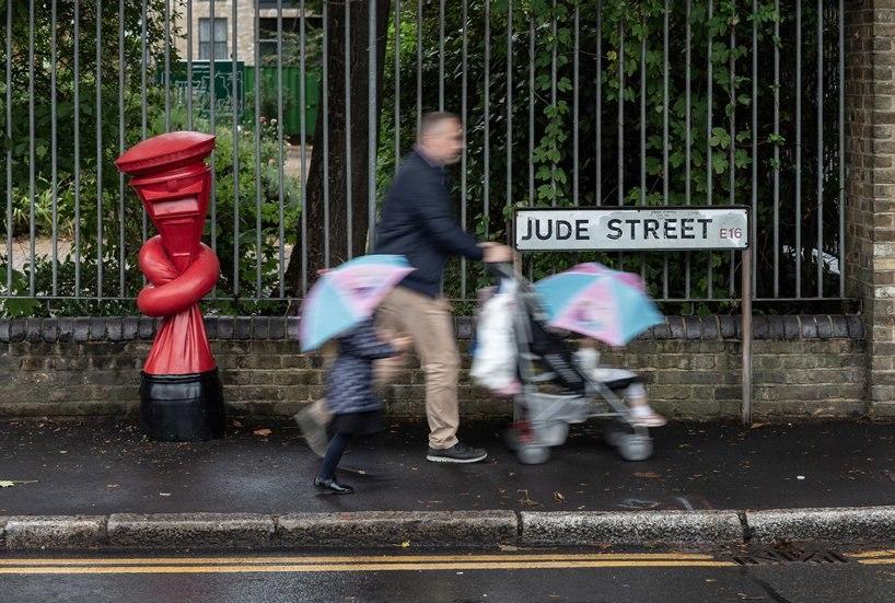 گره خوردگی صندوق های پستی انگلستان