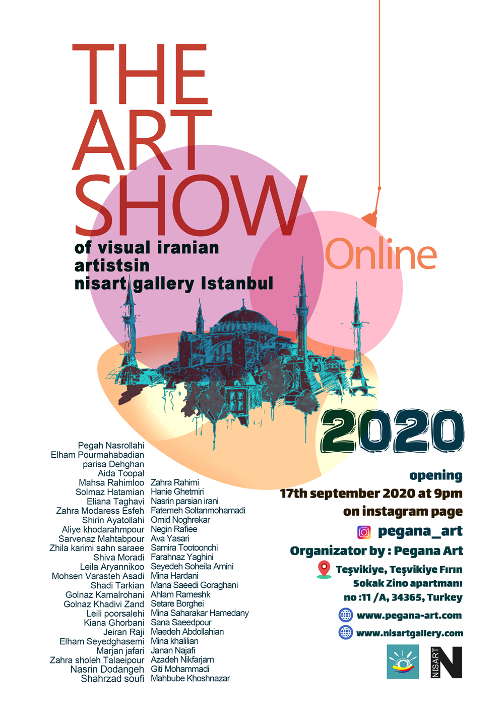 نمایشگاه آنلاین هنرهاى تجسمى (ایران-تركیه)