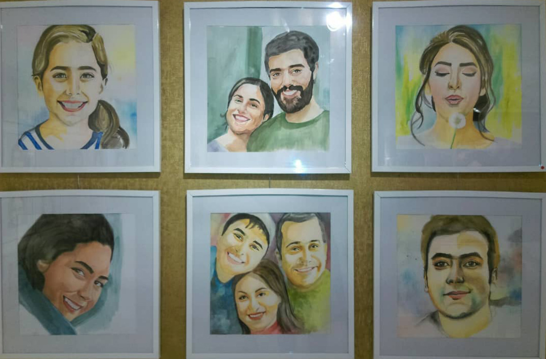 گزارش تصویری نمایشگاه علی حدادی در گالری خط سفید
