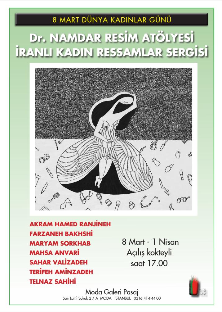 برپایی نمایشگاهی به مناسبت روز جهانی زن در استانبول