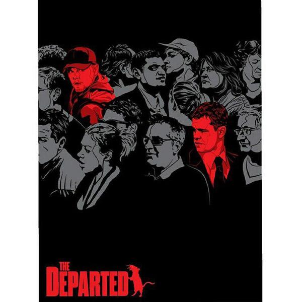 پوسترهای آلترناتیو شاهکارهای سینمایی؛ مرز درهم امیختگی هنرها