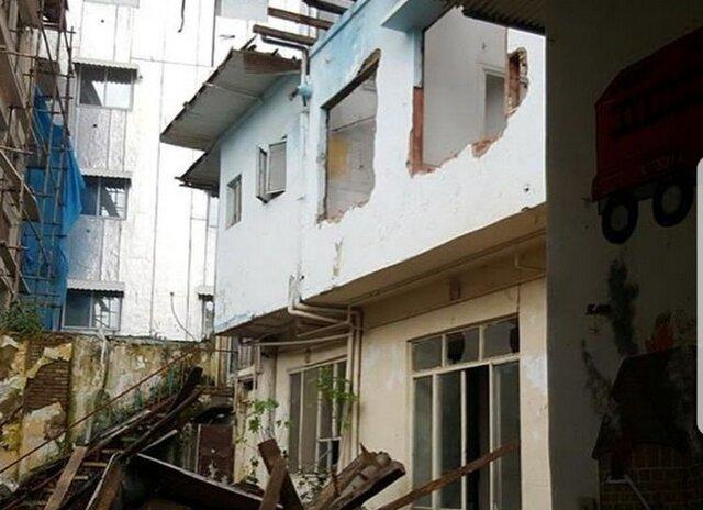 تأسف میراث فرهنگی از تخریب خانه کودکی ابتهاج در گیلان