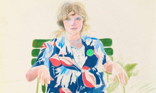 آثار «دیوید هاکنی» به گالری ملی پرتره میروند