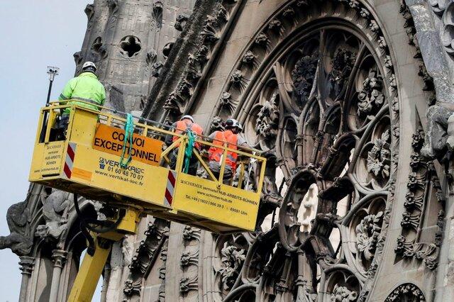ظاهر کلیسای نوتردام تغییر نخواهد کرد