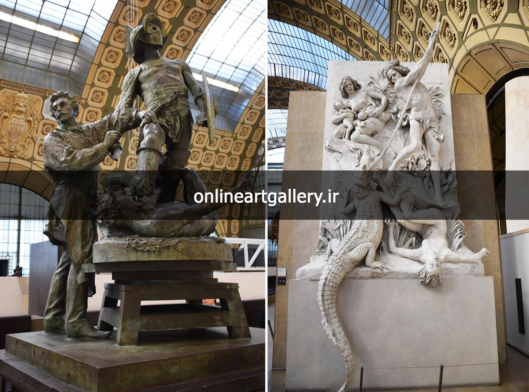 گزارش تصویری مجسمه های موزه اورسی پاریس(بخش ششم)