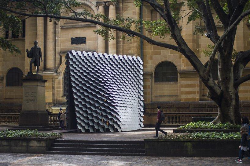 تبدیل نقاشی به موسیقی در پاویون «80Hz» سیدنی