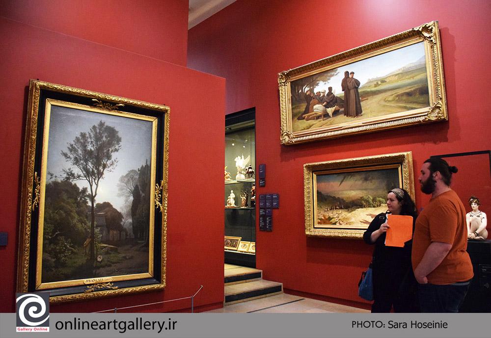 گزارش تصویری نقاشی های موزه d`Orsaya پاریس (بخش اول)