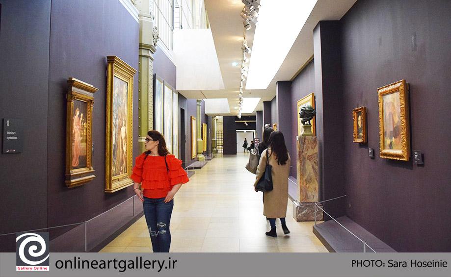 گزارش تصویری نقاشی های موزه d`Orsay پاریس (بخش دوم)