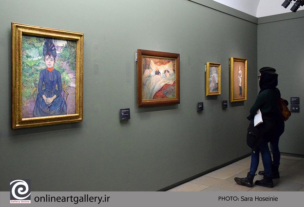 گزارش تصویری نقاشی های موزه d`Orsay پاریس (بخش ششم)