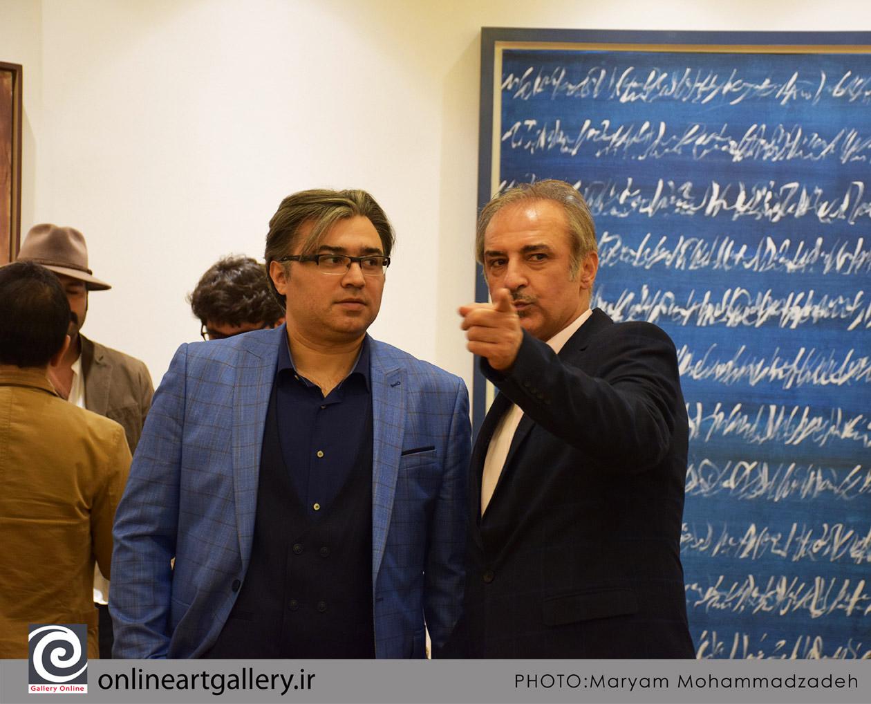 گزارش تصویری نمایشگاه آثار دهمین دوره حراج تهران (بخش اول)