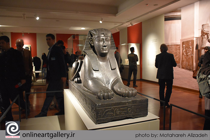 گزارش تصویری از نمایشگاه آثار موزه لوور در موزه ملی تهران (بخش سوم)