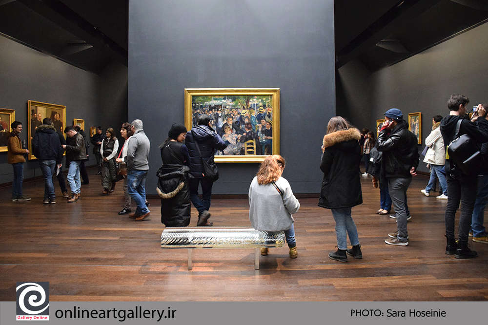 گزارش تصویری نقاشی های موزه d`Orsay پاریس (بخش نهم)