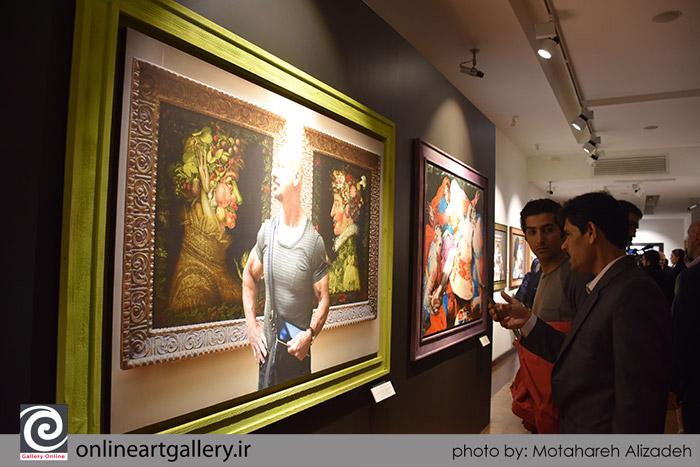 گزارش تصویری نمایشگاه عکس های عباس کیارستمی از موزه لوور در حاشیه نمایش آثار موزه لوور در موزه ملی تهران