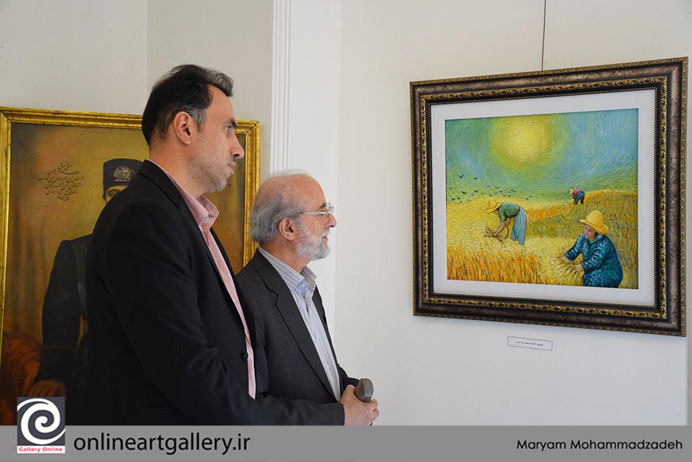 گزارش تصویری نمایشگاه «آینده یک سنت در مجسمه سازی امروز ایران» در موسسه صبا (بخش اول)