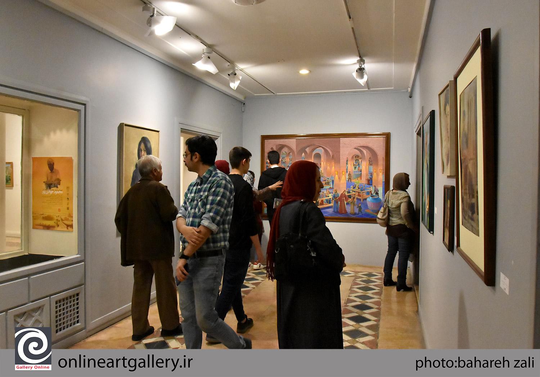 نمایشگاه مروری بر آثار استاد محمود جوادیپور افتتاح شد