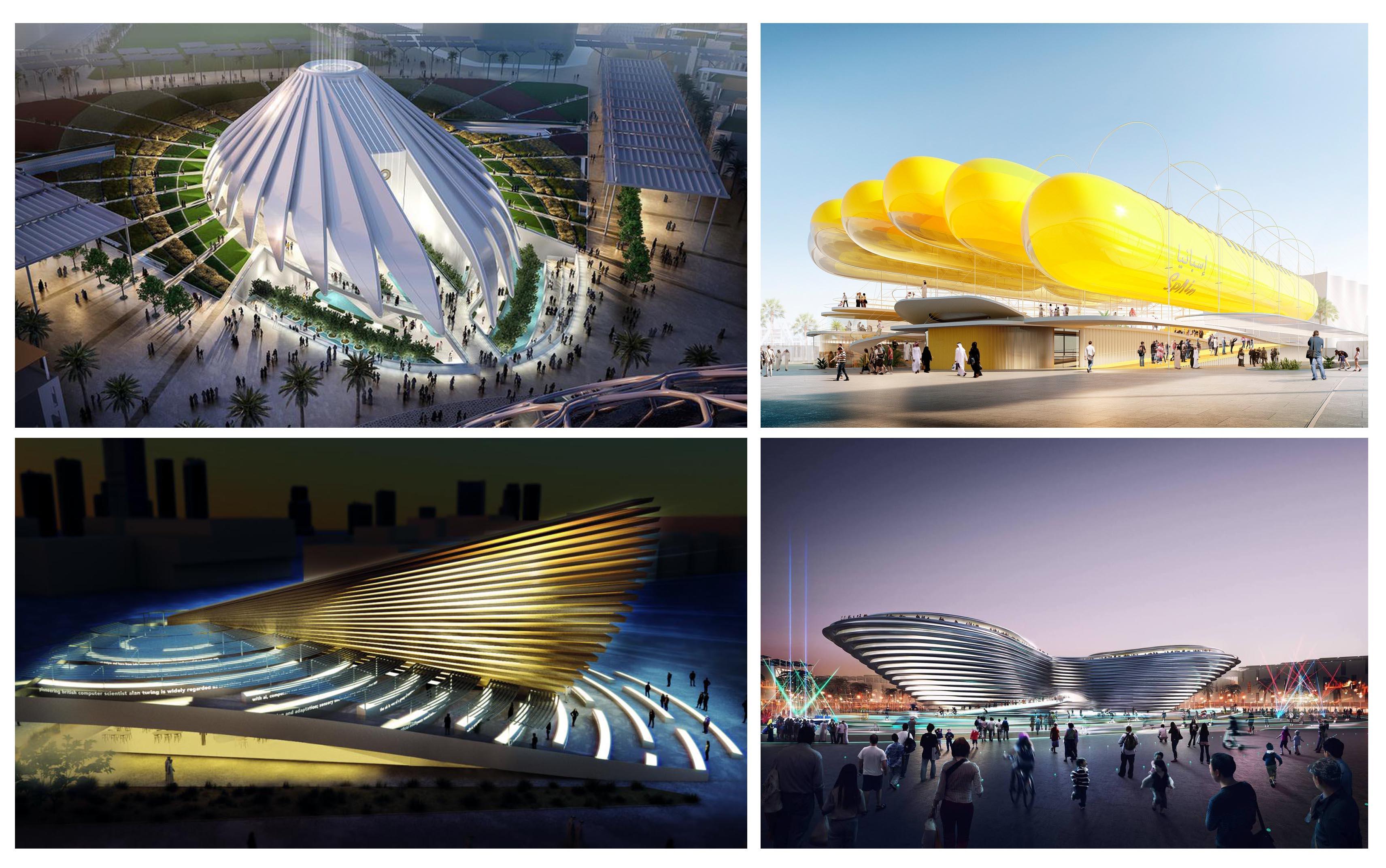 نگاهی به پاویون های اکسپو 2020 دبی