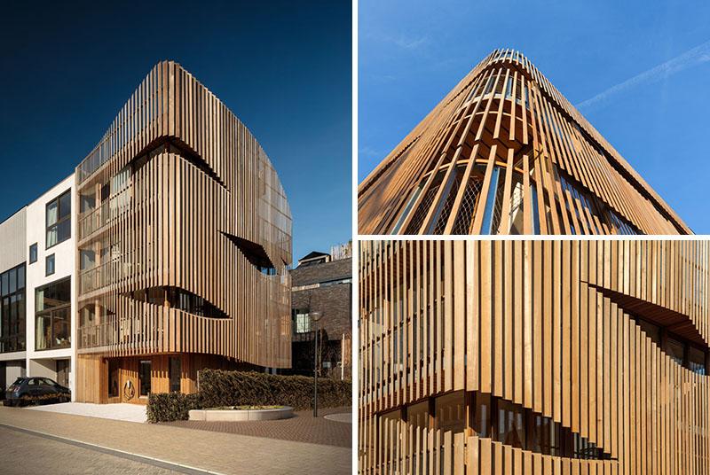 نگاهی به نمای ساختمانی ملهم از روحیه دریانورد هلندی
