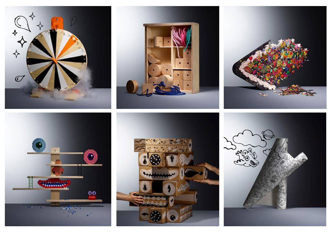 تحریک خلاقیت پیر و جوان با مجموعه مبتکرانه IKEA