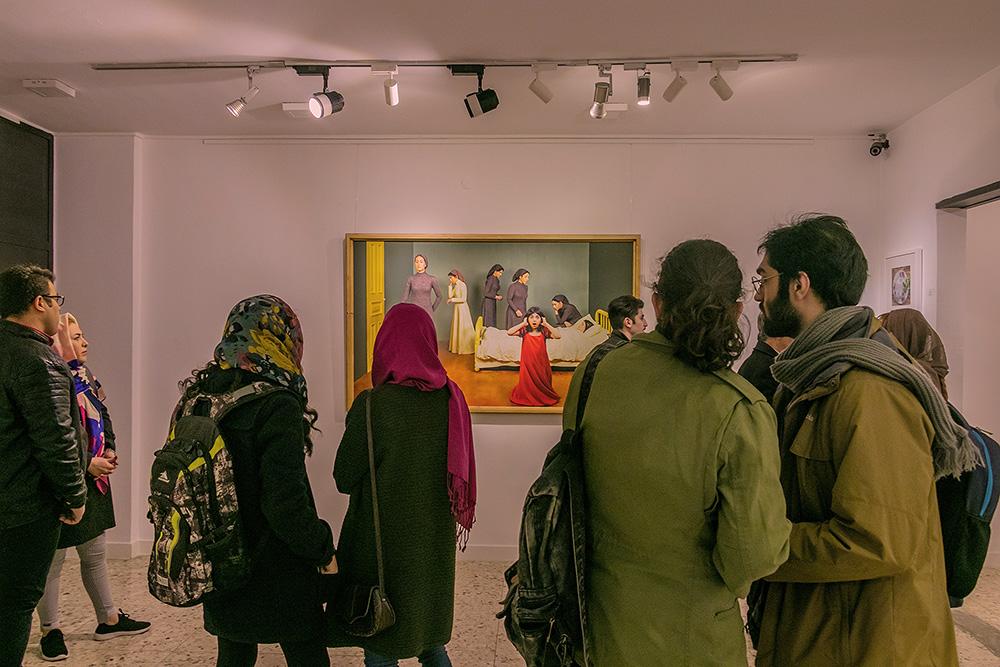 گزارش تصویری نمایشگاه گروهى عكاسى در گالری نگاه