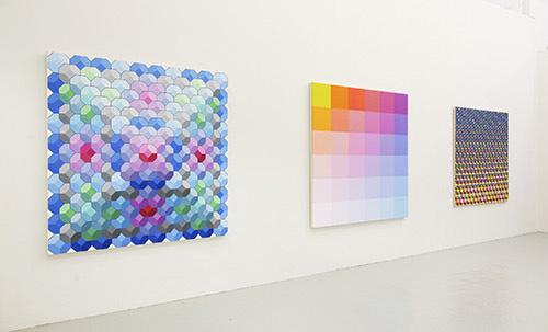 نمایش آثار Angela Johal در گالری دیوید ریچارد آمریکا