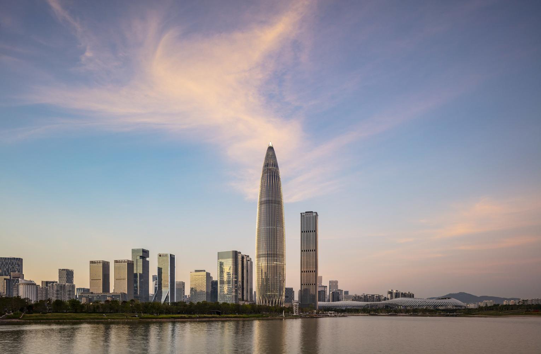 استودیو KPF سومین ساختمان بلند خود را در Shenzhen به پایان رساند