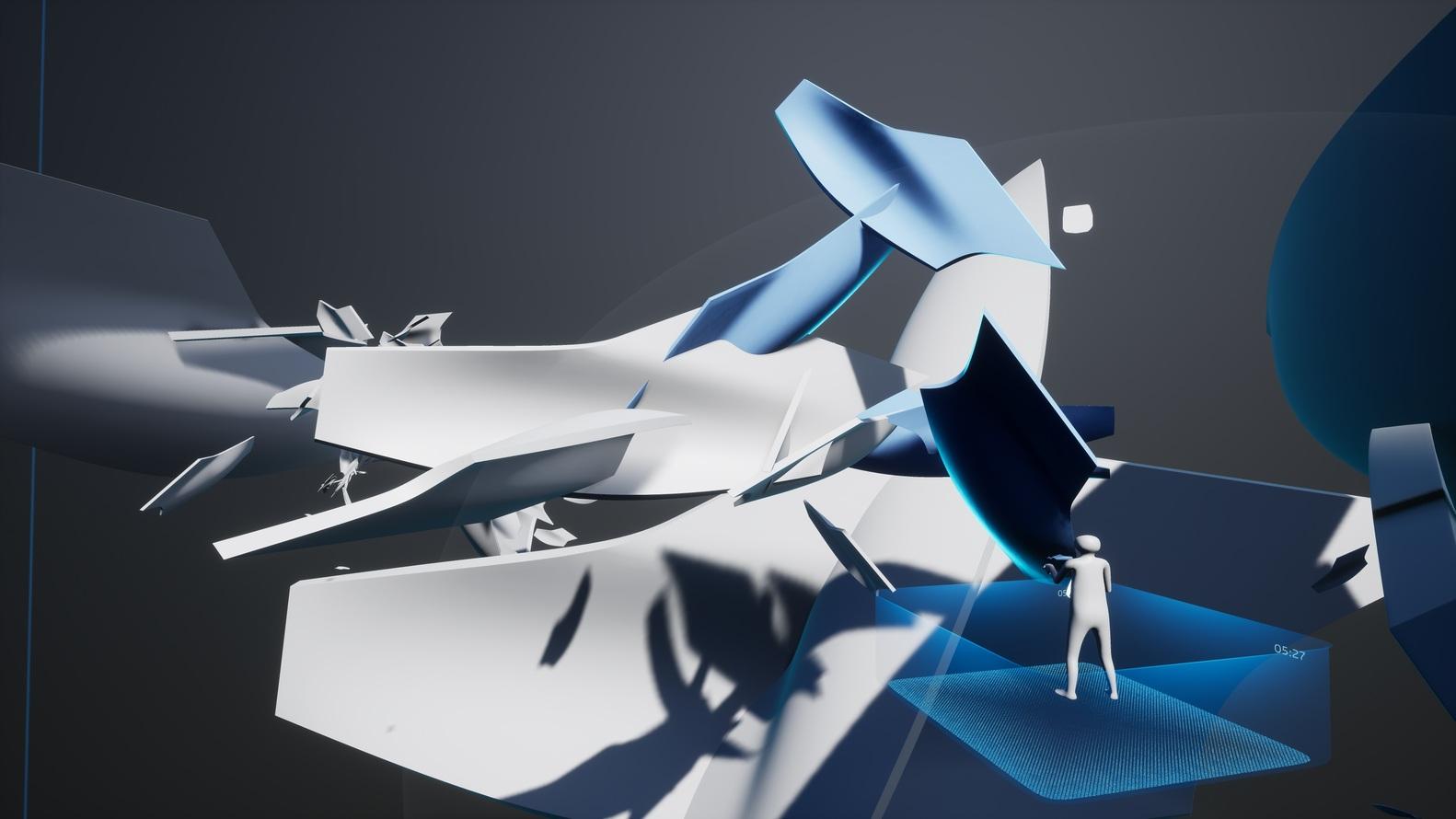 امکان ساخت ساختارهای مجازی در نمایشگاه زاها حدید