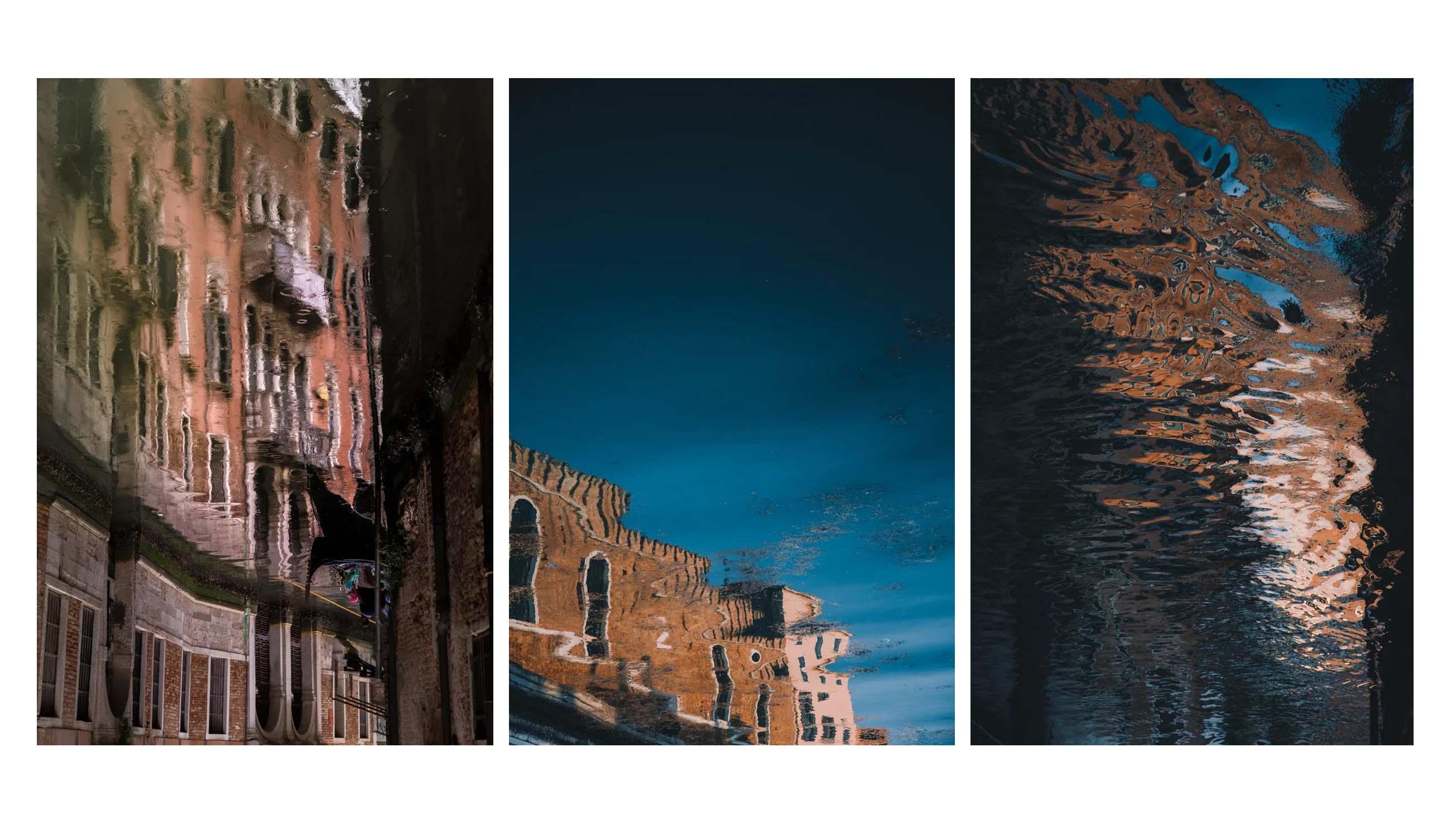 مجموعه عکس های دنیای منعکس شده از ونیز