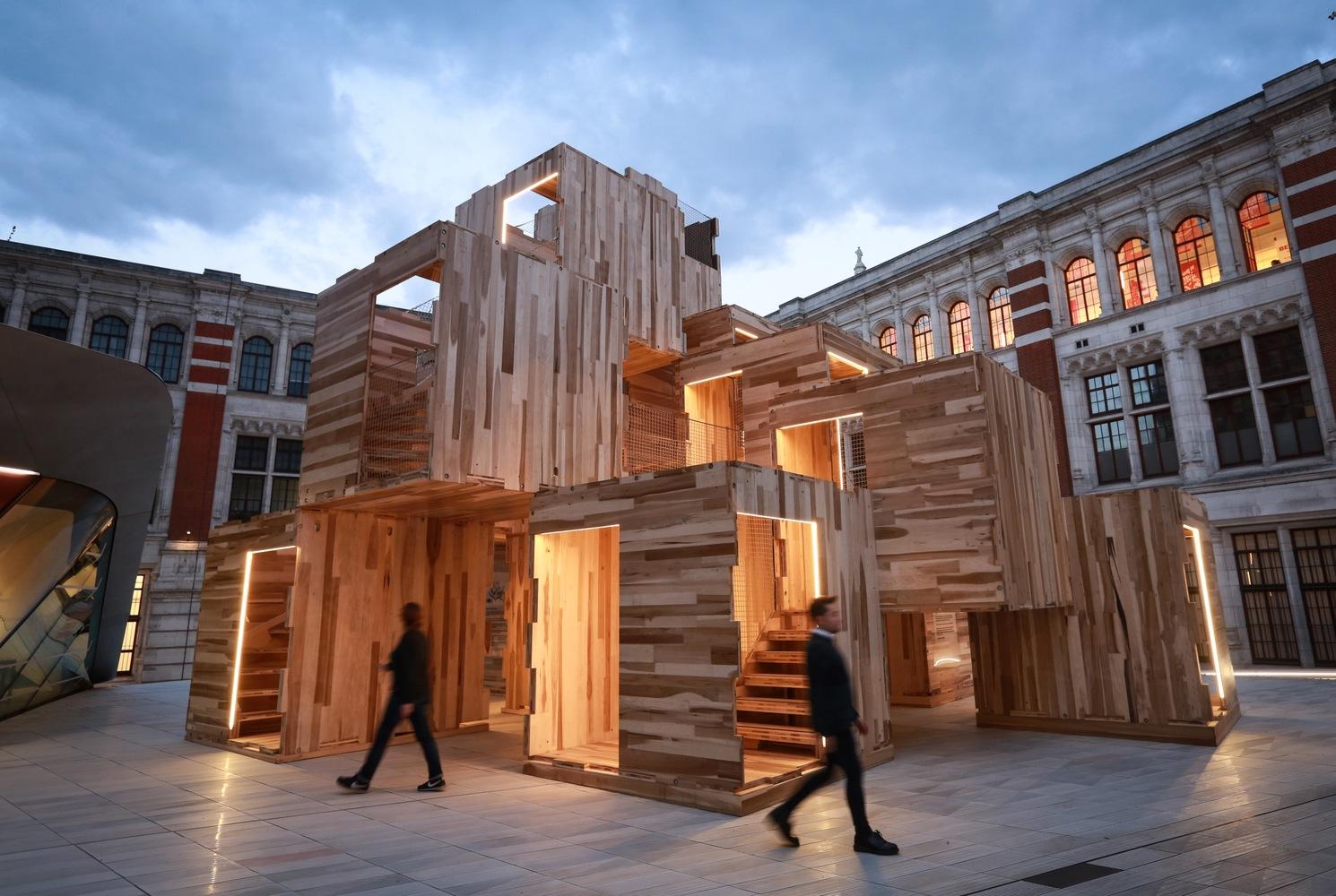 نگاهی به هفت چیدمان برتر فستیوال طراحی لندن