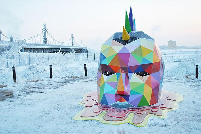 مجسمه ساحلی در روسیه