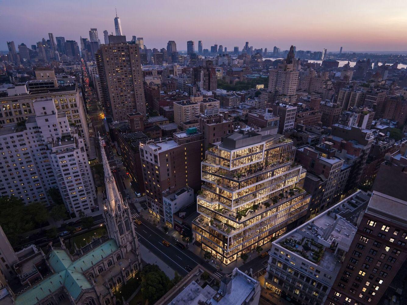 ساختمان اداری منهتن توسط Perkins+Will طراحی میشود