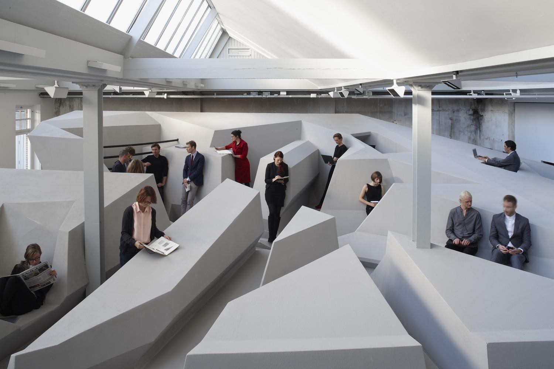 ایده ای نوین برای طراحی داخلی دفاتر کار