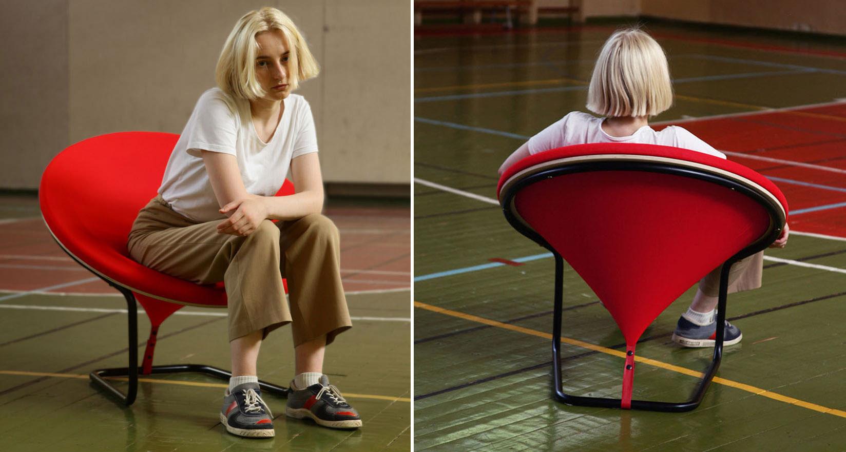 طراحی خلاقانه صندلی راحتی