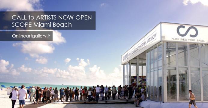 فراخوان فستیوال هنری سالانه SCOPE Miami Beach