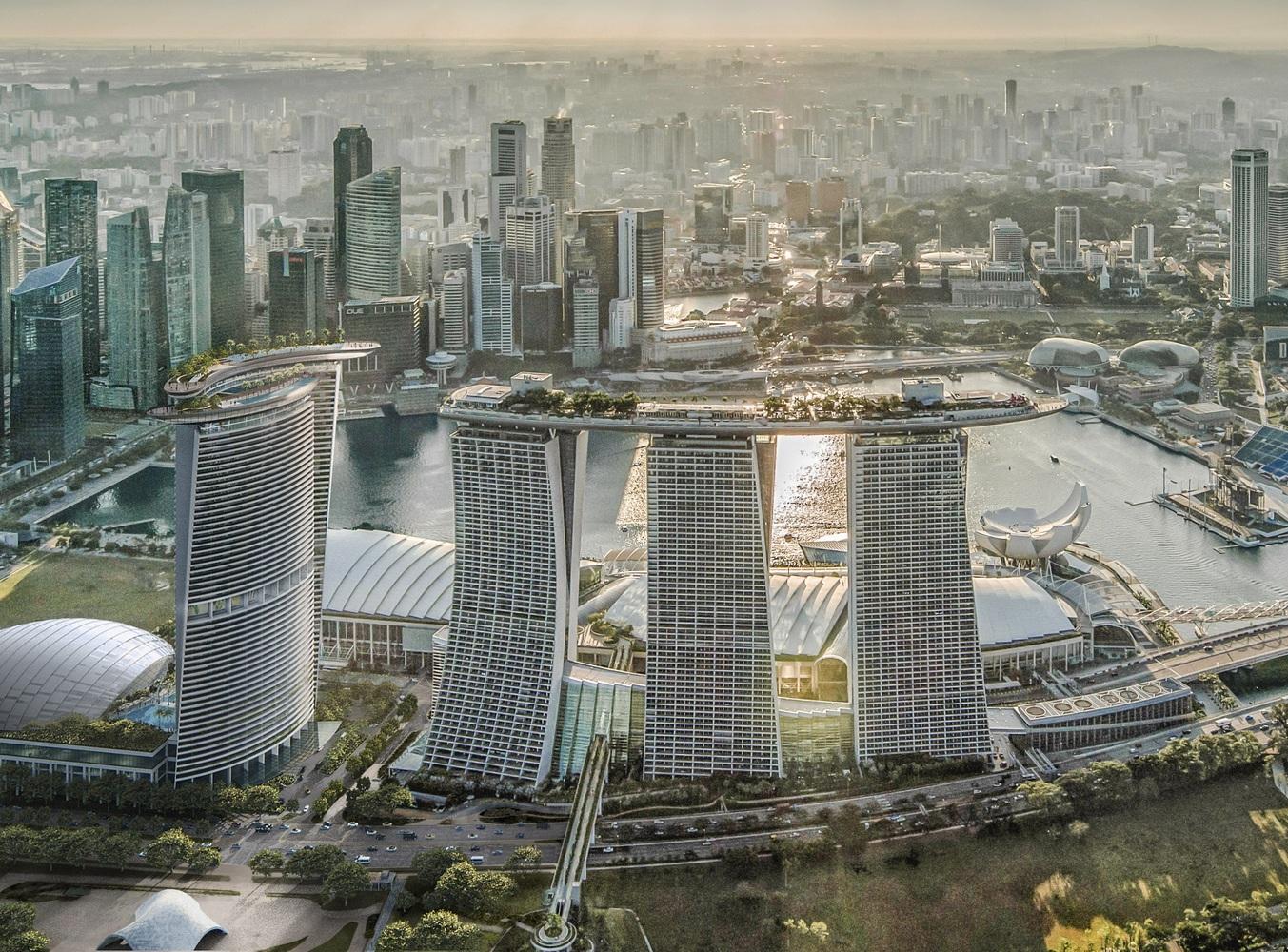 معماران Safdie یک برج چهارم برای Marina Bay Sands در سنگاپور طراحی می کنند